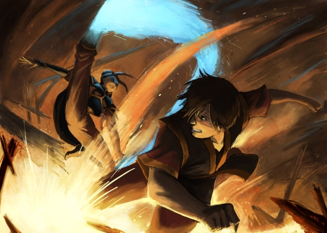 Avatar The Last Airbender - Azula vs Zuko