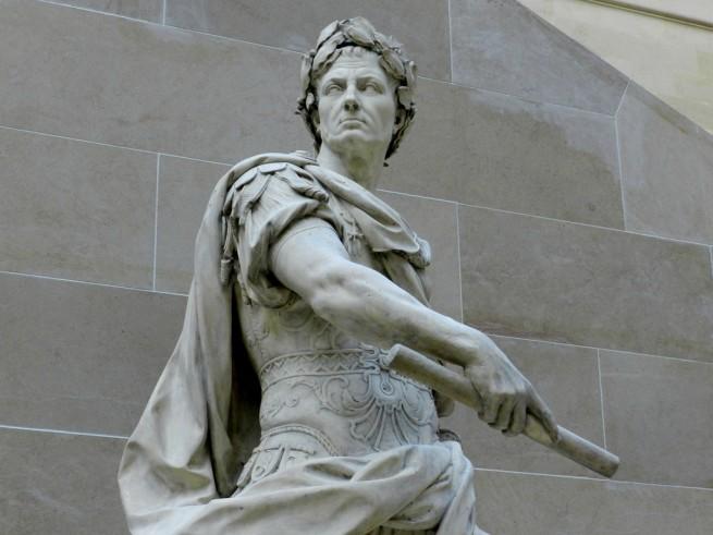 Statue of Julius Caesar at the Louvre
