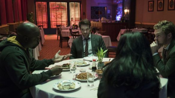 The Defenders - Gathering and Talking it Out