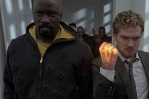 The Defenders - Luke Cage and Iron Fist