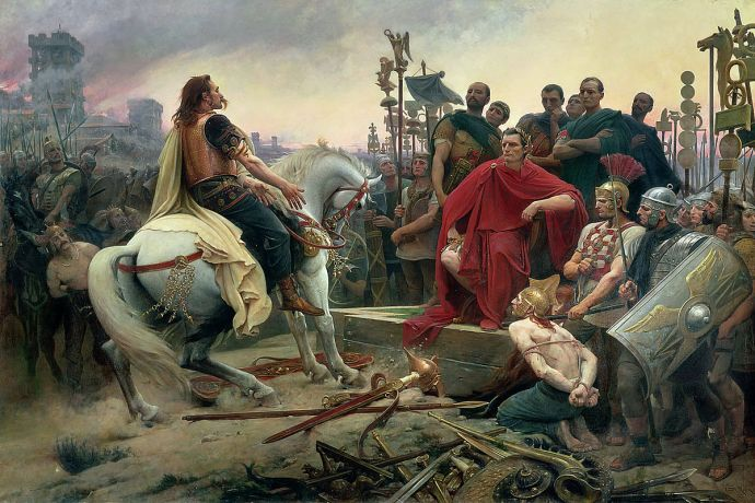 The Siege of Alesia - Vercingetorix - Julius Caesar - Gaul and Rome